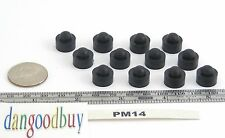 """8 Hard Rubber Push-In stem Bumpers  """"Rubber Feet""""  1/2"""" Diameter, Fits 1/4"""" Hole"""