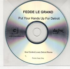 (EG503) Fedde Le Grand, Put Your Hands Up For Detroit - DJ CD