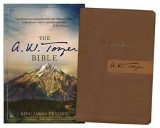 ** KJV * A. W. Tozer Bible * Brown/Tan Leathersoft - INDEXED - ON SALE!!  NEW!
