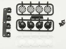 RPM 80982 Light Canister Set Black Slash Bumper Traxxas Slash/4x4/Nitro Slash