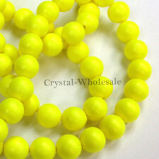 100 pcs Swarovski 5810 4mm Crystal Pearls Beads color choice [ M - W ]
