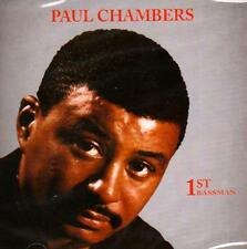 PAUL CHAMBERS - 1ST BASSMAN (NEW SEALED CD)