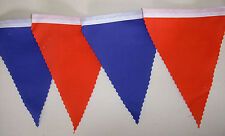 Crystal Palace Premiership Football Fabric Bunting Blue & Red 2mts or longer