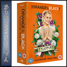 ORANGE IS THE NEW BLACK - COMPLETE SEASONS 1 2 & 3  *BRAND NEW DVD BOXSET ***