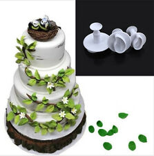 Leaf Plunger Cutter Mould Cookie Gum Paste Cake Decorating Mold