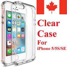 For iPhone 5 5S & iPhone SE - Clear Ultra Thin Soft TPU Transparent Case Cover