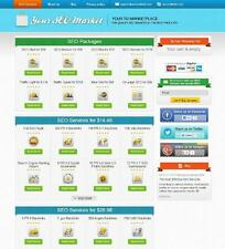 SEO Reseller Turnkey Website - 40+ Services - Free Installation + Hosting