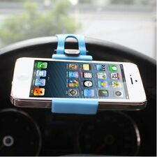 Car Steering Wheel Clip Mount Holder Universal for Smartphone iPhone 5/5S 6 HTC