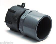 Raccordo S60x6 femmina - PVC 63/75 per cisterna da 1000 litri acqua pioggia