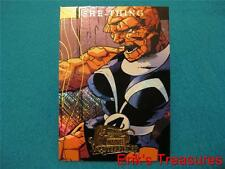 2008 Marvel Masterpieces She Thing Insert Foil Card