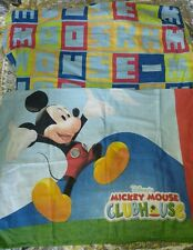 Mickey Mouse Clubhouse Pillowcase + TWIN Fitted sheet 1 2 3 Count with Me Disney