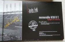 VICTOR MARTINEZ Autographed Book 2003 Jacobs Field 10th Anniversary Box Set MINT