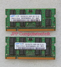 4 GB 2 x 2 GB DDR2 800 Mhz Speicher RAM Apple MacBook White 5,2 5.2 Early 2009