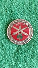 169th FA The Shamrock Brigade Commander's Award Outstanding Performance Coin