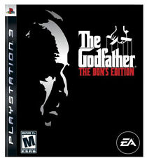 The Godfather The Don's Edition GAME Sony PlayStation 3 PS PS3 DONS
