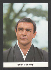 Sean Connery James Bond 1969 Movie Film Star Card from Germany