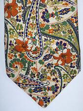 schöne breite Krawatte von LIMITÉ  - Seide, florales Muster