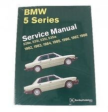 BMW E28 1982-1988 528e 533i 535i 535is M5 Service Repair Manual Bentley