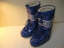 Tecnica The Original Moon Boot Women's Blue Snow Boots - EU 38 (US 6)