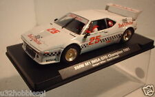 qq FLY BMW M1 IMSA GTO CHAMPION 1981 No25 RED HUMMER LTED EDITION AUTOEXCLUSIVE
