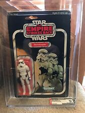 Vintage Star Wars 1982 KENNER AFA 60 STORMTROOPER ESB 48 BACK CARD MOC CLEAR BUB