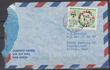1990 UAE Cover RAS AL KHAIMA to Germany, Football [cm769]