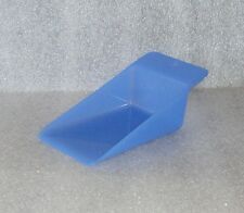 New Tupperware Gadgets Canister Flat Wedge Scoop Sheer Blue