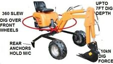 PLANS FOR 360 MINI BACKHOE, MINI EXCAVATOR, TRENCH DIGGER,AND 4 WHEEL DRIVE