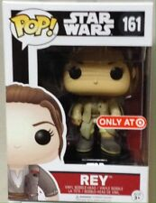 Sealed FUNKO POP 2016 STAR WARS Rey #161 Target EXCLUSIVE In Stock
