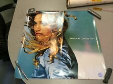 MADONNA RAY OF LIGHT~RARE~~ PROMO POSTER FLAT 24x24