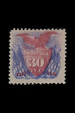 Framed Print - Shield Eagle Flags 30 Cent Stamp 1869 Valued at $210,000(Picture)