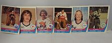 1977-78 O Pee Chee Hockey Cards Lot Of 6 Mcleod/Dryden/Garrett/Bromley/Smith