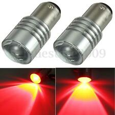 2X Red 1157 Bay15D P21/5W 380 Bulbs Car Tail Rear Stop Brake LED Light NO ERROR