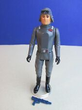 vintage COMPLETE star wars AT AT COMMANDER ACTION FIGURE no coo original  932