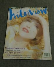 REVISTA ANDY WARHOL'S INTERVIEW - MADONNA - HERB RITTS - JUNE 93 - LENNY KRAVITZ