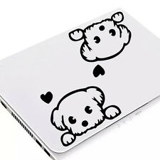 Baby Pet light Switch Laptop Cute Dog Wall Decal Vinyl Stickers DIY Decoration