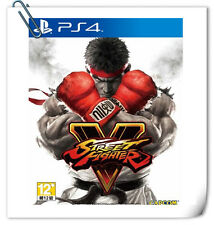 PS4 Street Fighter V SONY PLAYSTATION Games Fighting CAPCOM