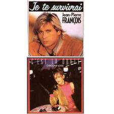 ★☆★ CD Single Jean-Pierre FRANCOIS Caroline LOEB Je te survivrai C'est la ouate