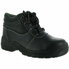 Centek Mens FS330 Leather S1 Work Safety Boot Black SIZE 9