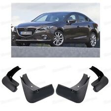 4x Mud Flaps Splash Guard Fender Mudguard for Mazda 3 Sedan 2014 2015 2016