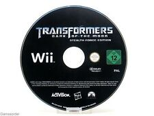 TRANSFORMERS - DARK OF THE MOON - STEALTH FORCE EDITION (Cd) +Nintendo Wii+ #1
