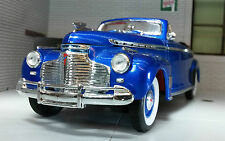 G LGB 1:24 Scale 1941 Chevrolet Special Deluxe Cabrio Diecast V Detailed Model