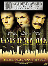 Gangs of New York (DVD, 2003, 2-Disc Set)  FREE SHIPPING