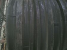 TWO 9.5Lx15, 9.5L-15 Triple Rib Front Tractor Tires with Tubes 8 ply