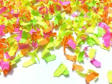 Neon Fluorescent Biodegradable Confetti Wedding Baby Shower Bright Deco (1 Pack)