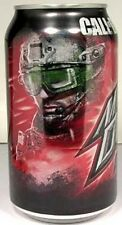 "MT UNOPEN 12oz Can Mountain Dew ""Call of Duty Game Fuel"" Citrus Cherry USA 2011"