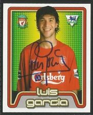 Merlin 2005 Premier League #310 - LIVERPOOL - LUIS GARCIA