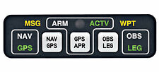"MID CONTINENT INST MD-41-1328 ""NEW"" GPS ANNUNCIATOR CNTRL ""BELOW COST"" ""LOOK"" !!"