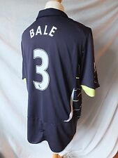 Used in Ex Condition Genuine Tottenham 2010/11 3rd Away Shirt  BALE 3 Mens XL