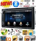 FITS GM CAR-TRUCK-VAN-SUV Cd/Dvd Bluetooth Radio Stereo Double Din Dash Kit